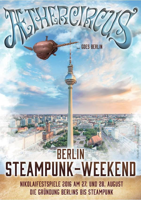 Aethercircus goes Berlin 2016
