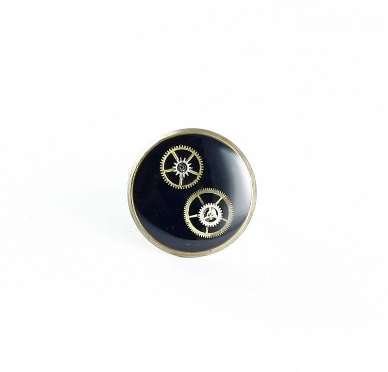 ring steampunk kreis in schwarz bernhardt style steampunk schmuck und accessoires. Black Bedroom Furniture Sets. Home Design Ideas