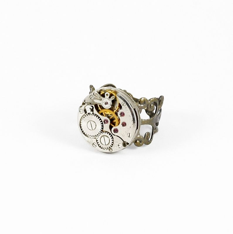 Ring Steampunk Fein