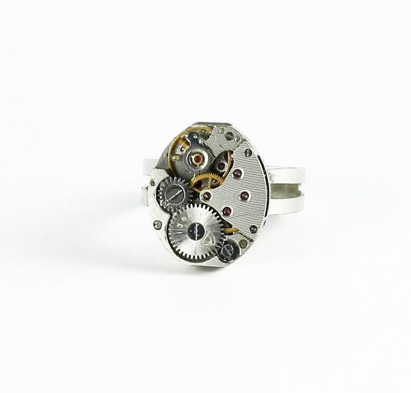 Ring Steampunk Oval